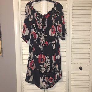 White House Black Market Dresses - Floral Patterned Dress